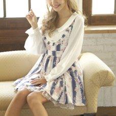 LIZ LISA Stripe Rose Dress