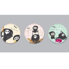 Yurushito x Ninja-kun Pin Badge Set