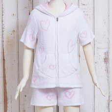 Mafumafu Fluffy Heart Pajamas