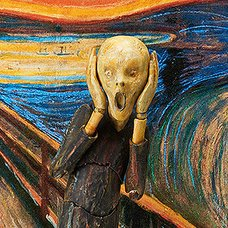 figma The Table Museum: The Scream (Re-run)