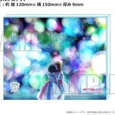 Love Live! Superstar!! Yuigaoka Girls' High School Store Official Memorial Item Vol. 3: KuuKaa First Live Performance☆Sparkling Acrylic Block