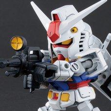 SD Gundam Cross Silhouette Mobile Suit Gundam RX-78-2 Gundam & Cross Silhouette Frame