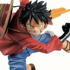 Ichibansho Figure One Piece Monkey D. Luffy (Dynamism of Ha)
