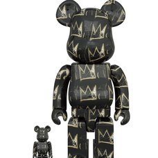 BE@RBRICK Jean Michel Basquiat Vol. 8 100% & 400% Set