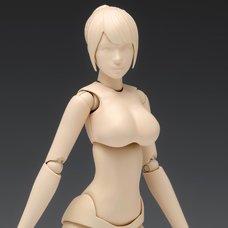 1/12 Scale Movable Body Female Type [Ver. C] Plastic Model SR-024