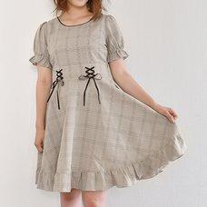 LIZ LISA Glen Check Dress