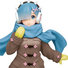 Precious Figure Re:Zero -Starting Life in Another World- Rem: Winter Coat Ver. Renewal Edition