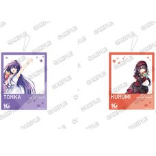 Date A Live 10th Anniversary Date Celebration Picture Keychain Collection