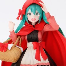 Wonderland Figure Hatsune Miku: Little Red Riding Hood