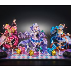 [Complete Set w/ Bonus Display Base] Re:Zero -Starting Life in Another World- Idol Ver. 1/7 Scale Figures