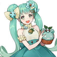 Hatsune Miku Sweet Sweets Series Figure: Chocolate Mint Ver.