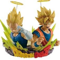 Dragon Ball Z Com: Figuration Gogeta Vol. 2: Son Goku & Vegeta (Re-run)