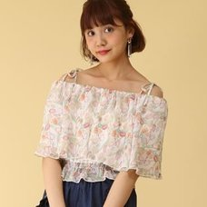 Honey Salon Vintage Tulip Top