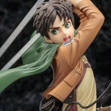 ArtFX J Attack on Titan Eren Yeager: Renewal Package Ver.