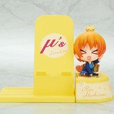 Choco Sta Love Live! Rin Hoshizora Figure & Smartphone Stand