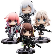 Minicraft Series Action Figure Girls' Frontline Disobedience Team Complete Box Set