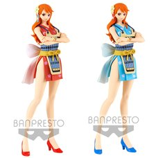 One Piece Glitter & Glamours Nami: Wano Country Style II