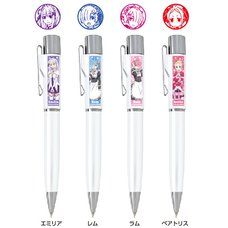 Re:Zero -Starting Life in Another World- Stamp Pen G Knock Character Ballpoint Pen w/ Stamp Vol. 2