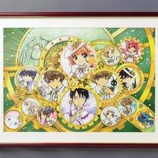 CLAMP 30th Anniversary Main Visual Reproduction Art Print (A1-Size)