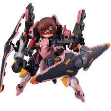 Desktop Army Rebuild of Evangelion Mari Makinami Illustrious & Evangelion Unit-08α