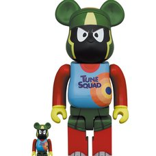 BE@RBRICK Space Jam: A New Legacy Marvin the Martian 100% & 400% Set