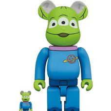 BE@RBRICK Toy Story Alien 100% & 400% Set