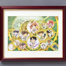CLAMP 30th Anniversary Main Visual Reproduction Art Print (B4-Size)