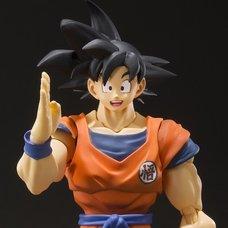S.H.Figuarts Dragon Ball Z Son Goku -A Saiyan Raised On Earth-
