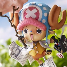 One Piece Collaboration Figure Tony Tony Chopper: Challenge From Greeeen