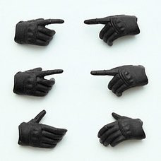 Little Armory-OP3: figma Tactical Gloves (Stealth Black) (Re-run)