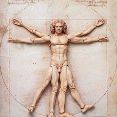 figma The Table Museum: Vitruvian Man (Re-run)