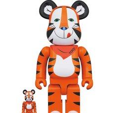 BE@RBRICK Kellogg's Tony the Tiger: Vintage Ver. 100% & 400%
