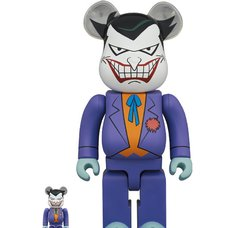 BE@RBRICK The Joker: Batman: The Animated Series Ver. 100% & 400% Set
