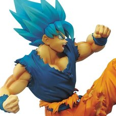 Dragon Ball Super Super Saiyan Blue Goku Z-Battle Figure