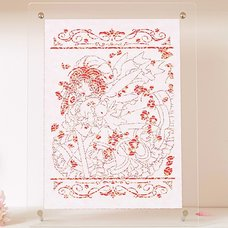CLAMP 30th Anniversary Cardcaptor Sakura Chara-Kirie Paper-Cut Artwork