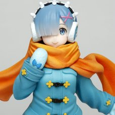 Re:Zero -Starting Life in Another World- Rem: Winter Cloth Ver. Non-Scale Figure