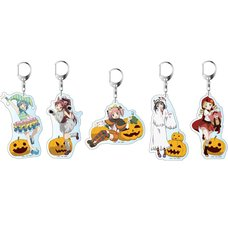 Puella Magi Madoka Magica the Movie: Rebellion Halloween Keychain Set