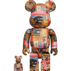 BE@RBRICK Andy Warhol x Jean-Michel Basquiat Vol. 2 100% & 400% Set