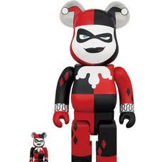 BE@RBRICK Harley Quinn: Batman the Animated Series Ver. 100% & 400% Set