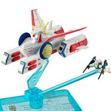 Cosmo Fleet Collection Mobile Suit Gundam E.F.S.F. Pegasus-Class White Base Assault Landing Craft