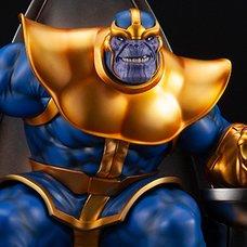 Marvel Universe Thanos on Space Throne Fine Art Statue