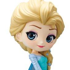 Q Posket Disney Characters Elsa (Ver. A)