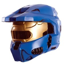 Halo Blue Spartan 2-Piece Mask
