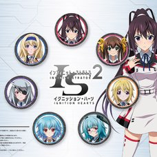 Infinite Stratos 2 Heroines Pin Badge Set
