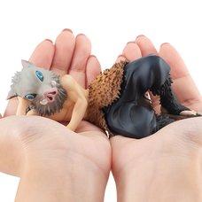 G.E.M. Series Demon Slayer: Kimetsu no Yaiba Palm-Size Inosuke w/ Bonus