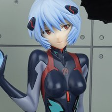 Evangelion: 3.0+1.0 Thrice Upon a Time Rei Ayanami (Tentative Name): Plugsuit Ver. New Movie Edition 1/7 Scale Figure