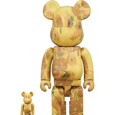 BE@RBRICK Van Gogh Museum Sunflowers 100% & 400% Set