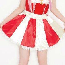Lunatic Lemony Lollipop Apple Candy Cane Skirt