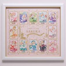 Cardcaptor Sakura 25th Anniversary Reproduction Cover Art Cards (Framed Panels)