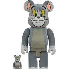 BE@RBRICK Tom and Jerry Tom Flocky 100% & 400% Set